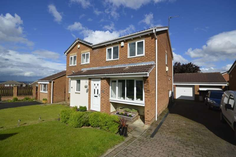 3 Bedrooms Semi Detached House for sale in Harwill Croft, Churwell,Morley, Leeds, LS27