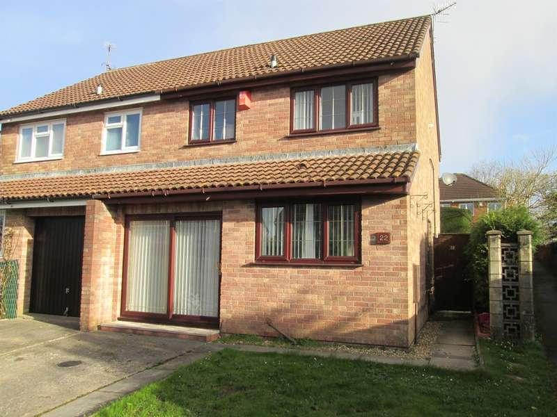 3 Bedrooms Semi Detached House for sale in Heol Y Waun, Pontlliw, Swansea