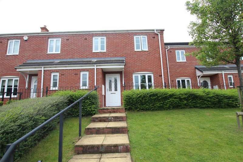 3 Bedrooms Semi Detached House for sale in Sanders Way, Lichfield, Staffordshire