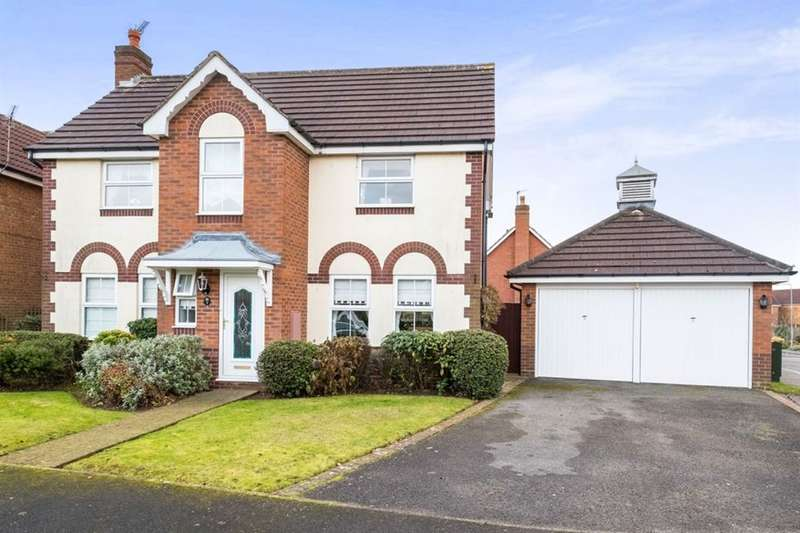 4 Bedrooms Detached House for sale in Machin Grove, WORKSOP, S81