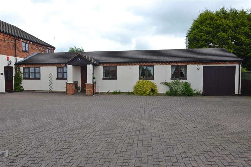 2 Bedrooms Semi Detached Bungalow for sale in The Old Dairy, 6 Homestead Court, Stafford
