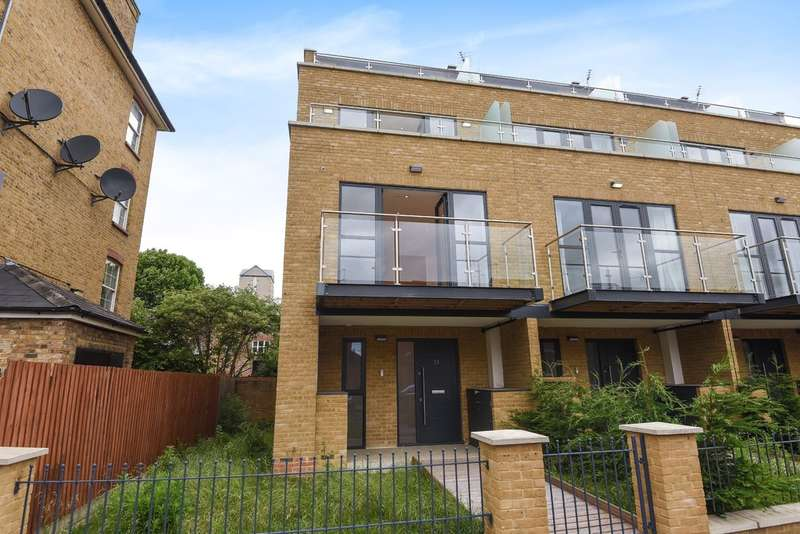 4 Bedrooms End Of Terrace House for sale in Tiller Road, Canary Wharf