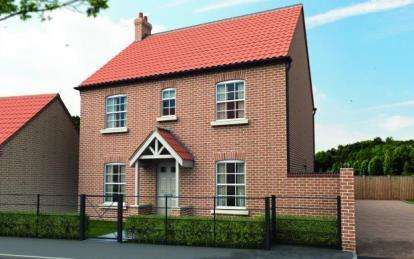 4 Bedrooms Detached House for sale in The Grange, Off Heath Road, Scothern, Lincolnshire