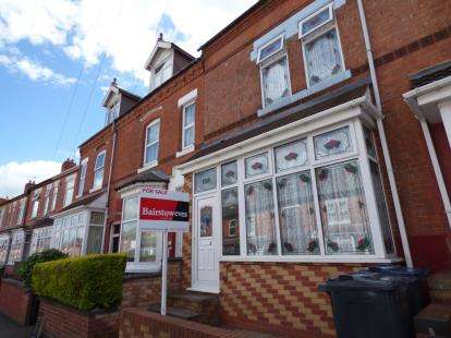 4 Bedrooms Terraced House for sale in Grove Road, Sparkhill, Birmingham, West Midlands