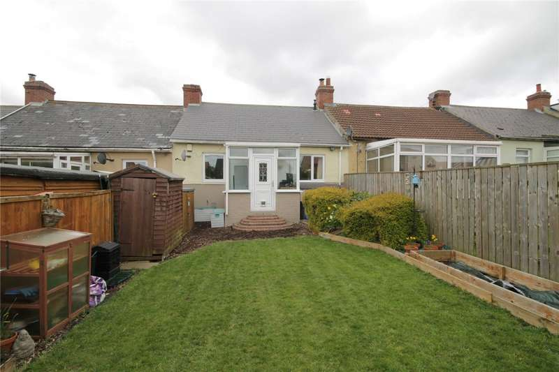 2 Bedrooms Terraced Bungalow for sale in Fourth Street, Pont Bungalows, Leadgate, Consett, DH8