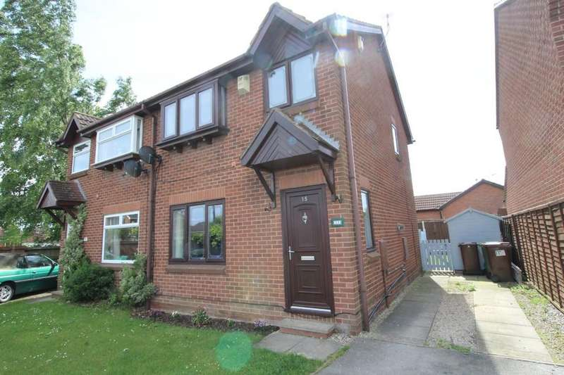 3 Bedrooms Semi Detached House for sale in Ryedale Place, Altofts