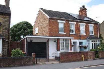3 Bedrooms Semi Detached House for sale in Spring Road, Kempston, Bedford, Bedfordshire