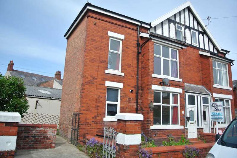 3 Bedrooms Semi Detached House for sale in Kirkdale Avenue, Lytham St Annes, FY8 1XE
