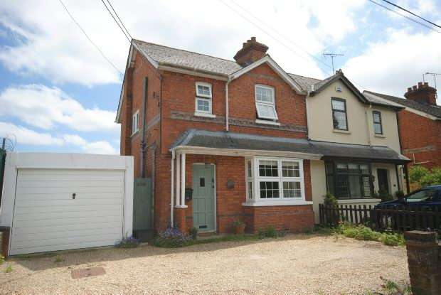 3 Bedrooms Semi Detached House for sale in Church Lane Three Mile Cross Reading