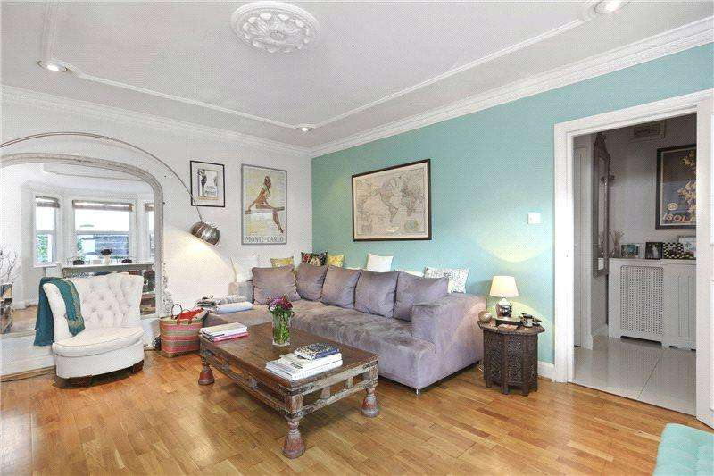 2 Bedrooms Flat for sale in Keith Grove, London, W12