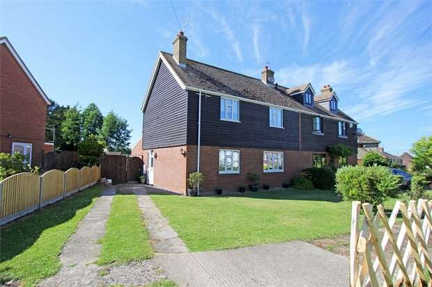 3 Bedrooms Semi Detached House for sale in Primrose Grove, Bredgar, Sittingbourne, Kent