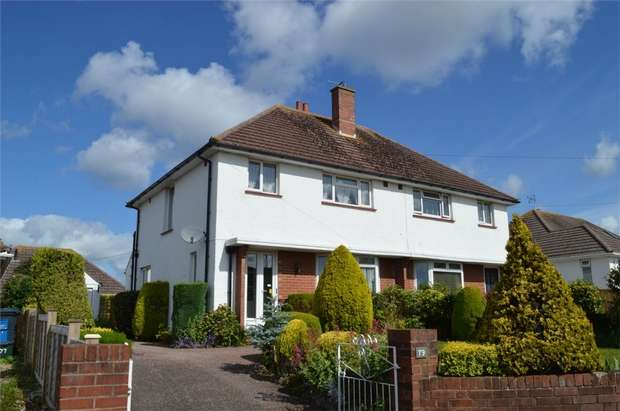 3 Bedrooms Semi Detached House for sale in Hulham Road, Exmouth, Devon