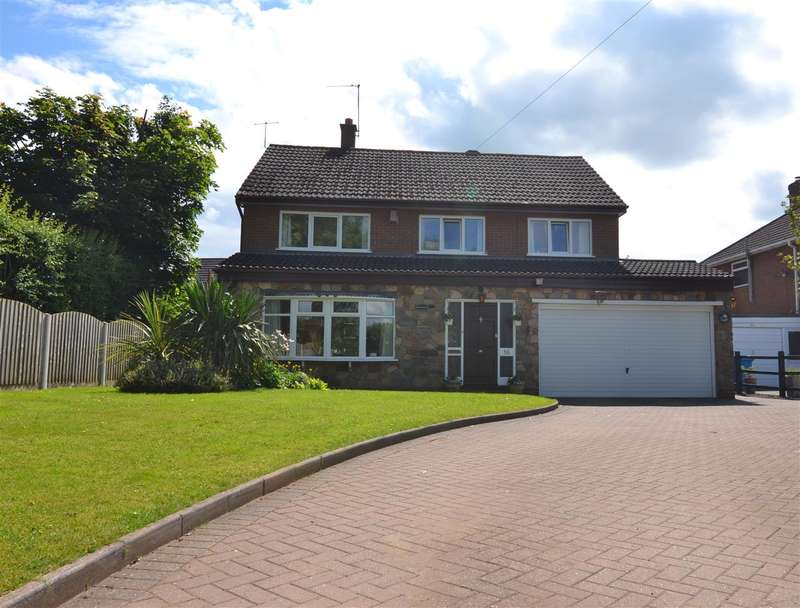 4 Bedrooms Detached House for sale in Ridgeways, Chase View Lane, Stafford