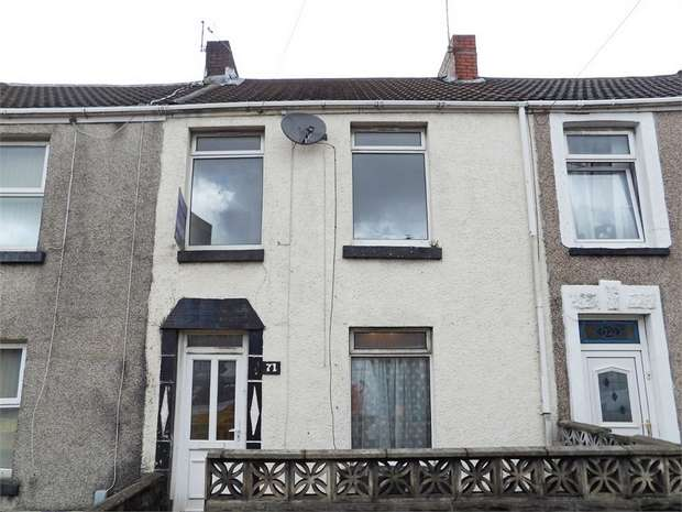 3 Bedrooms Terraced House for sale in Courtney Street, Manselton, Swansea, West Glamorgan