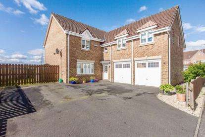 4 Bedrooms Detached House for sale in Hopepark Drive, Cumbernauld