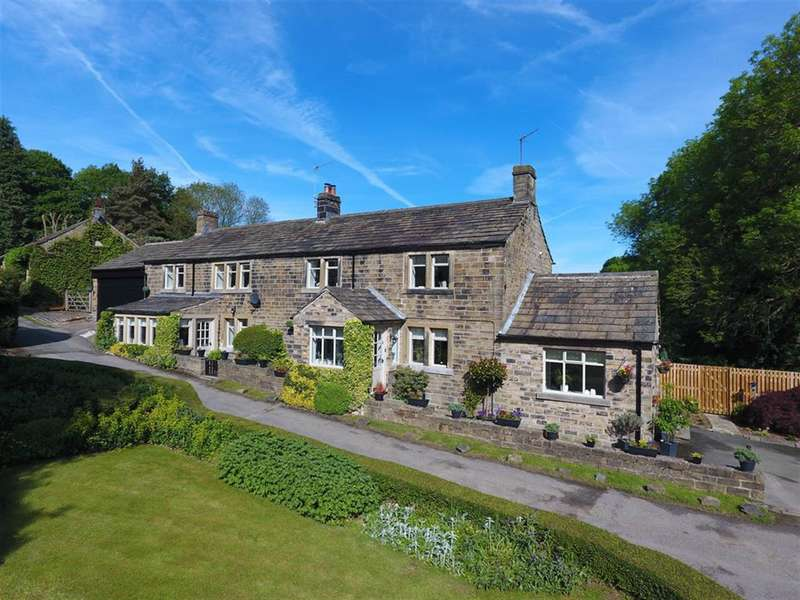 4 Bedrooms Farm House Character Property for sale in Corn Mill Cottage, Corn Mill Bottom, Thunderbridge, Huddersfield, HD8 8JJ