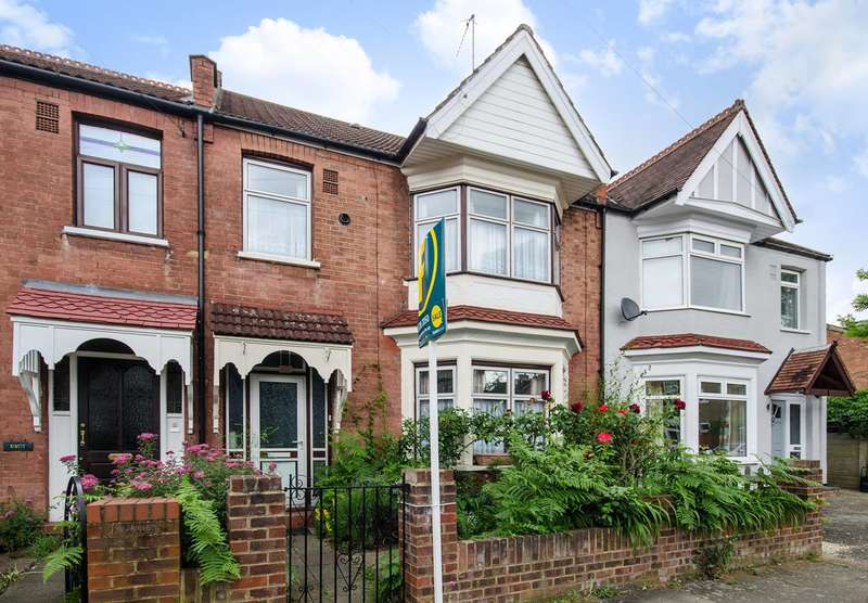 3 Bedrooms Terraced House for sale in Butler Road, West Harrow, HA1