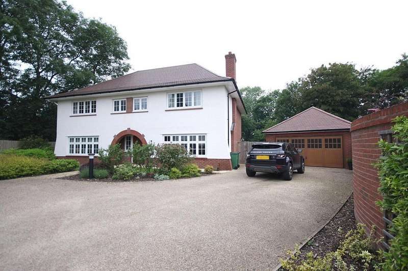 5 Bedrooms Detached House for sale in Waring Close, Glenfield, Leicester LE3