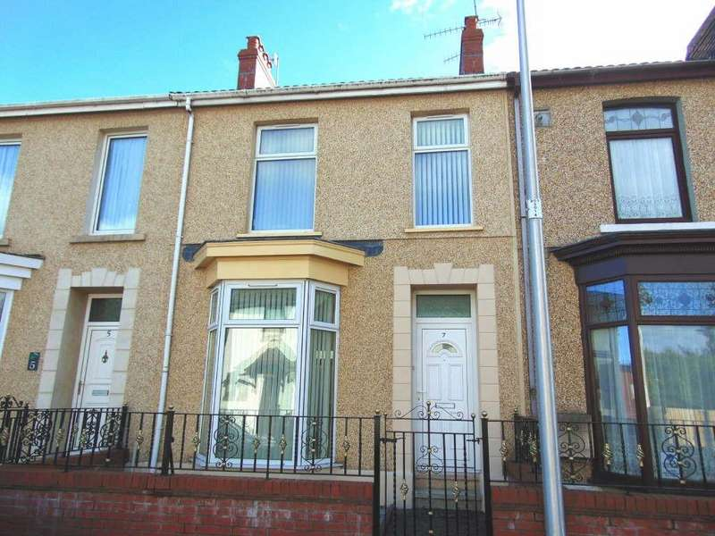 4 Bedrooms Terraced House for sale in Great Western Terrace, Llanelli, Llanelli, Carmarthenshire