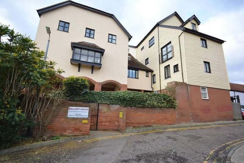1 Bedroom Retirement Property for sale in Bellamy House, New Street, Braintree, Essex, CM7