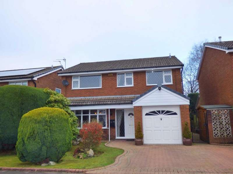 4 Bedrooms Detached House for sale in Oldbury Close, Hopwood, Heywood, Lancashire, OL10