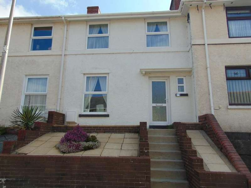 2 Bedrooms Terraced House for sale in Victoria Road, Ponthenry