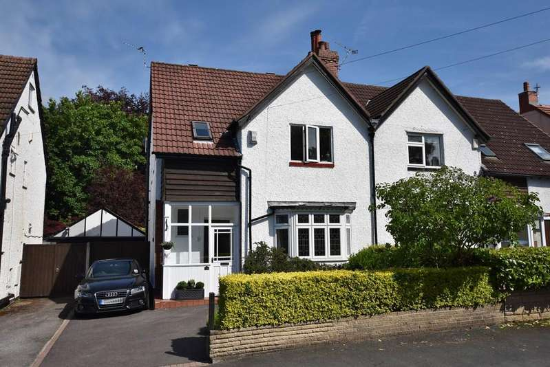 3 Bedrooms Semi Detached House for sale in Acacia Avenue, Hale