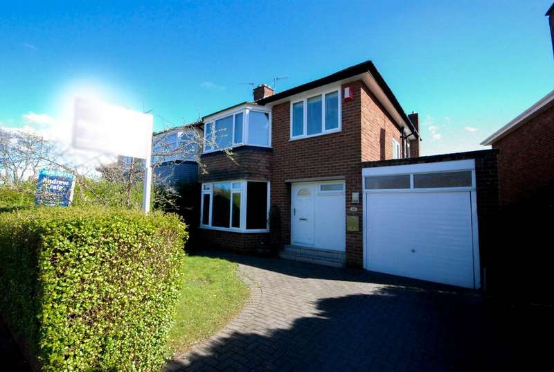 3 Bedrooms Semi Detached House for sale in Montagu Avenue, Gosforth