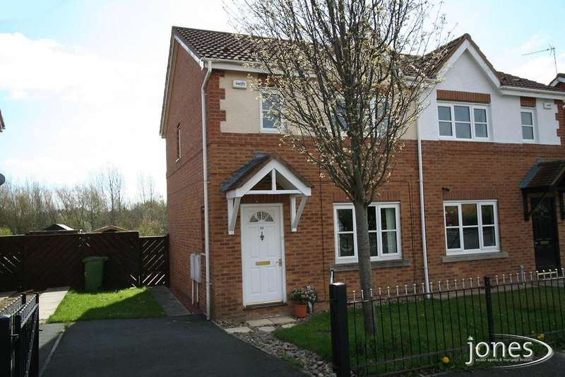 3 Bedrooms Semi Detached House for sale in Hive Close, ,Stockton on Tees,TS19 0FG