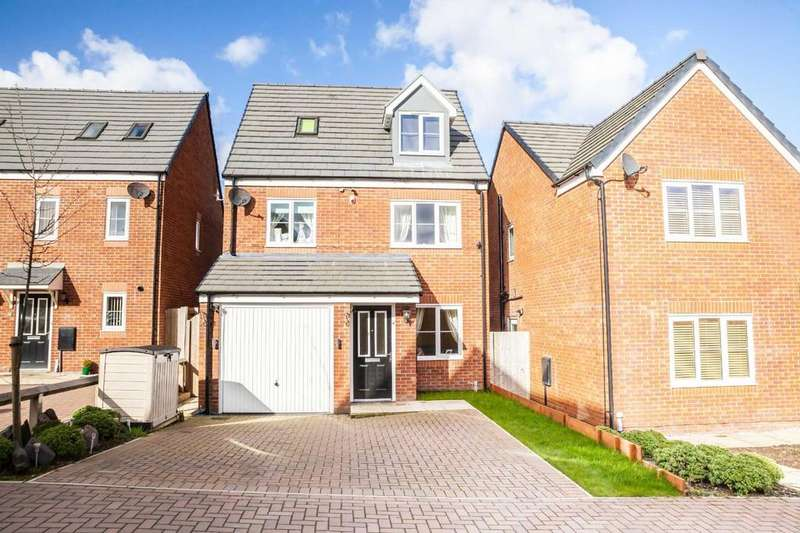 4 Bedrooms Detached House for sale in Thor Drive, Whitworth, Rochdale, Lancashire, OL12