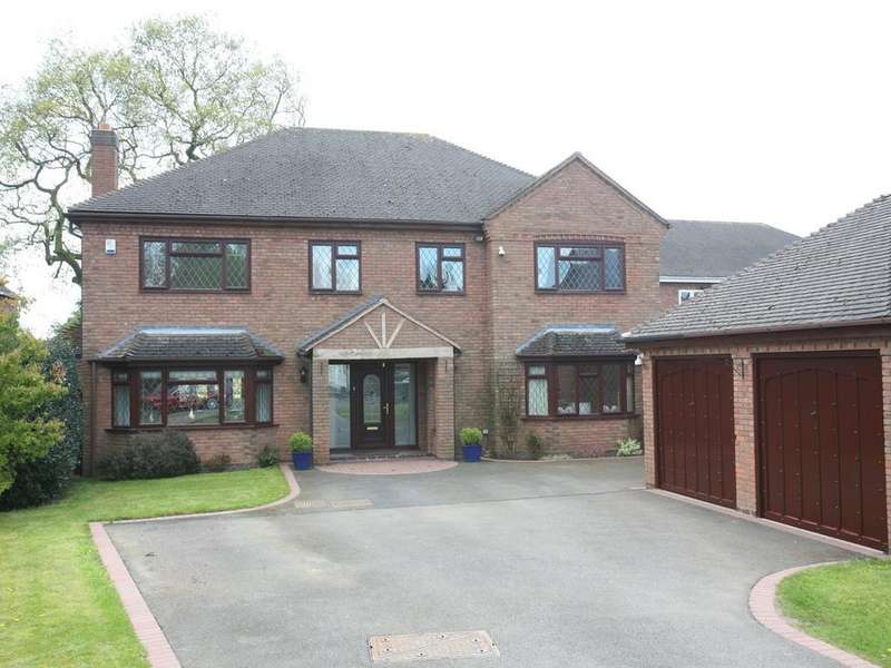 5 Bedrooms Detached House for sale in The Oaklands, 6 Kenderdine Close, Bednall, ST17 0YS