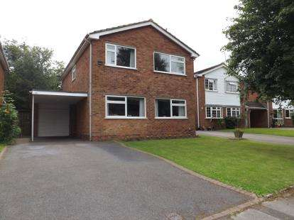 4 Bedrooms Detached House for sale in Alveston Grove, Knowle, Solihull, West Midlands