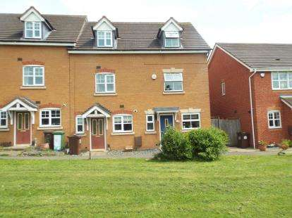 End Of Terrace House for sale in Henbury Drive, Chelmsley Wood, Birmingham, West Midlands