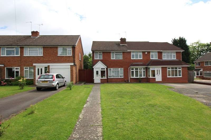 3 Bedrooms Semi Detached House for sale in Sherwood Close, Hall Green, Birmingham