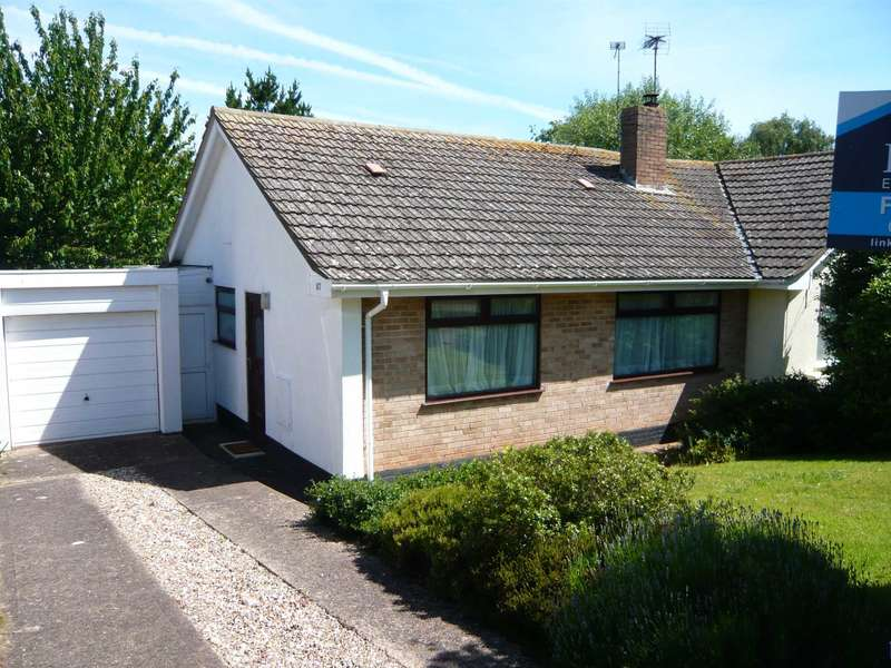 2 Bedrooms Semi Detached Bungalow for sale in Chichester Close, Exmouth