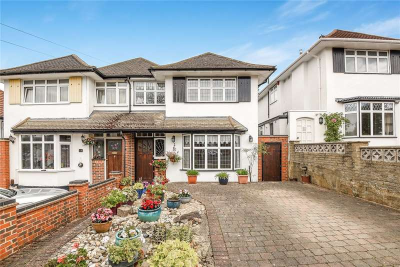 4 Bedrooms Semi Detached House for sale in Oaklands Avenue, Watford, WD19
