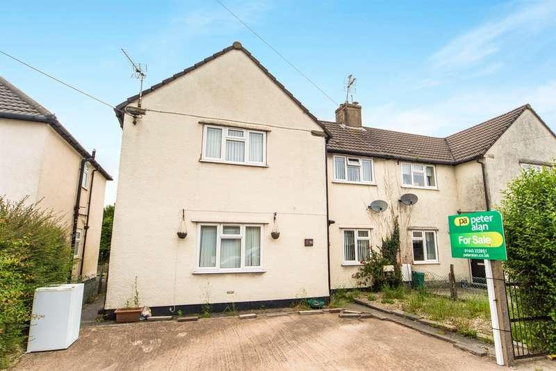 3 Bedrooms Semi Detached House for sale in Llantrisant Road, Beddau, Pontypridd