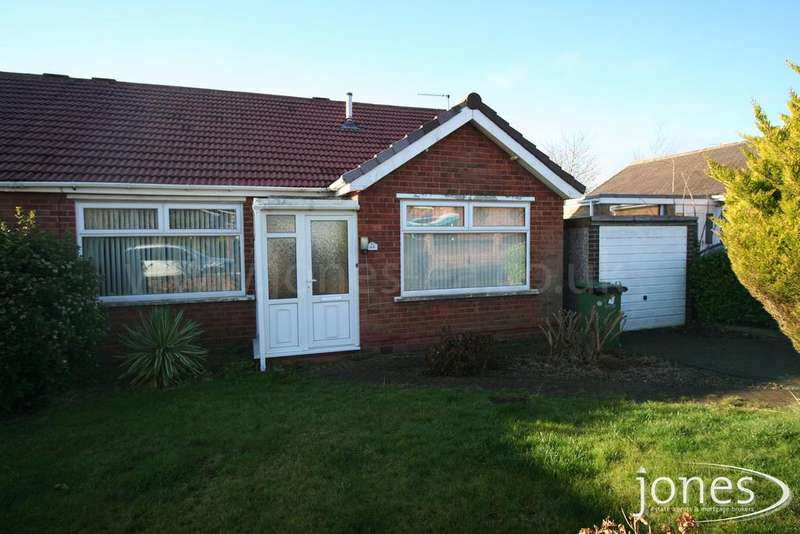 3 Bedrooms Semi Detached Bungalow for sale in Green Vale Grove, Fairfield, Stockton on Tees, TS19 7RQ