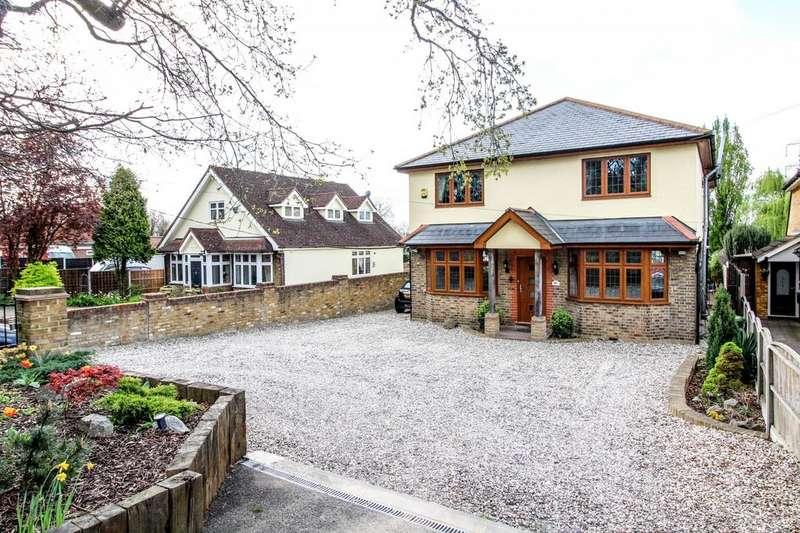 5 Bedrooms Detached House for sale in Nags Head Lane, Brentwood, Essex, CM14