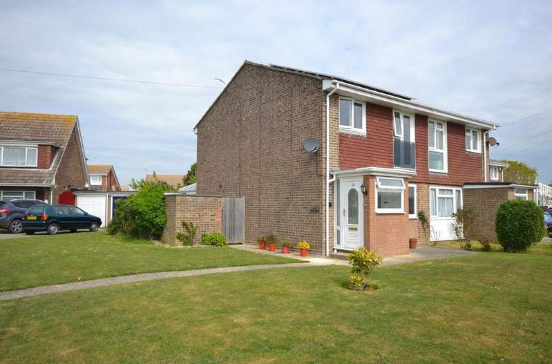 3 Bedrooms Semi Detached House for sale in Ruskin Close, Selsey, PO20