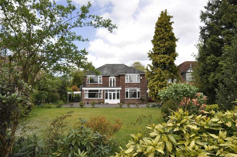 5 Bedrooms Detached House for sale in Far Hills, Wilmslow Road, Woodford