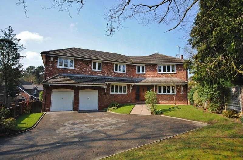 5 Bedrooms Detached House for sale in Ardenbrook Rise, Prestbury