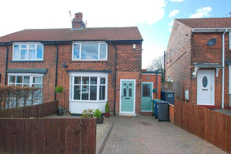 2 Bedrooms Semi Detached House for sale in Highfield Drive, South Shields