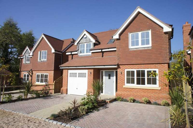 4 Bedrooms Detached House for sale in Tokers Green Lane, Tokers Green