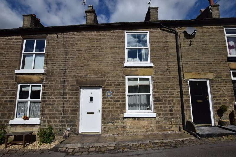 2 Bedrooms Terraced House for sale in New Horwich Road, Whaley Bridge, High Peak
