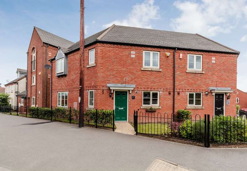 3 Bedrooms Semi Detached House for sale in High Street, Woodville, Swadlincote, Derbyshire DE11 7EA
