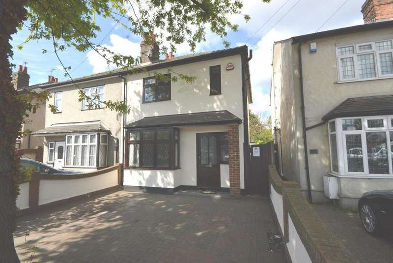3 Bedrooms Semi Detached House for sale in Brentwood Road, Gidea Park, RM2