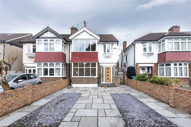 4 Bedrooms Semi Detached House for sale in Staines Road, Twickenham, TW2