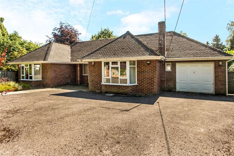 2 Bedrooms Detached Bungalow for sale in Old Hillside Road, Winchester, Hampshire, SO22
