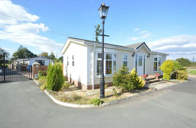 2 Bedrooms Detached Bungalow for sale in Croft Park, Newton Hall Lane, Mobberley, Knutsford